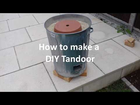 Home made Tandoor Oven