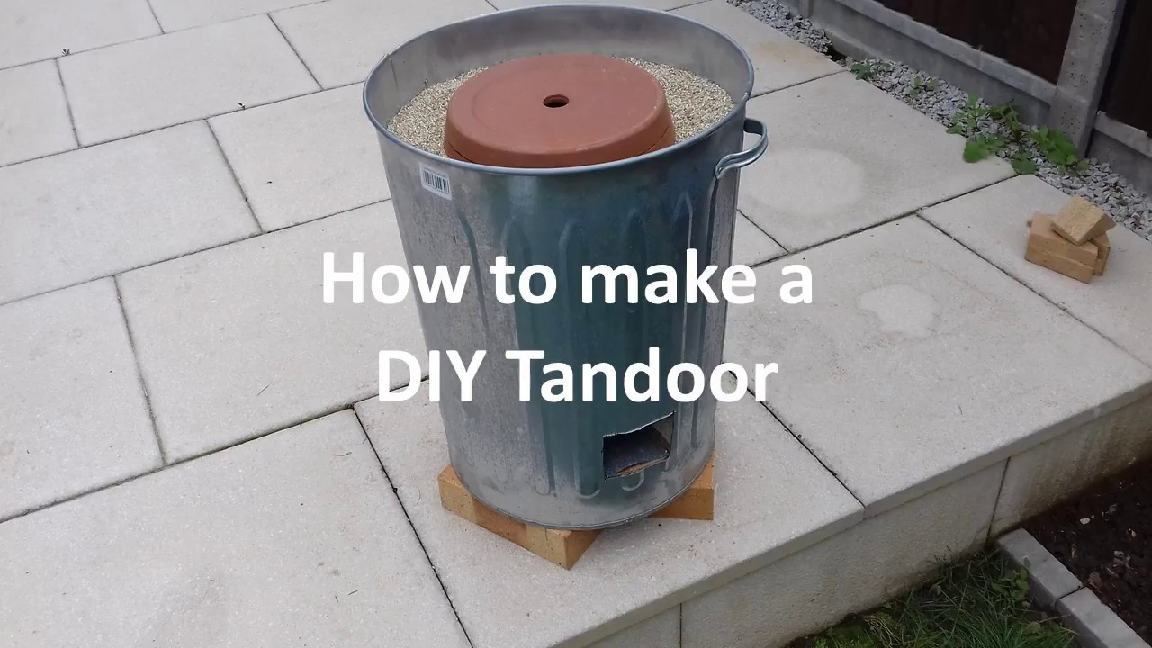 Home made Tandoor Oven - YouTube