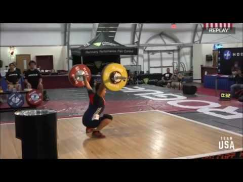2017 Pan Am Weightlifting M 69 kg A Group