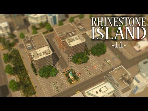 "Cities Skylines - Rhinestone Island [PART 11] ""Luxury Office Space"""