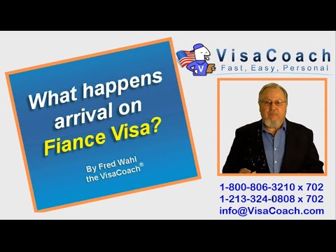 K1 Fiance Visa: What Happens On Arrival? K135