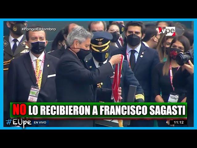 CONGRESO NO RECIBIÓ A FRANCISCO SAGASTI PARA LA ENTREGA DE BANDA PRESIDENCIAL