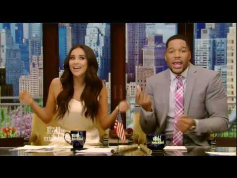 Live! With Kelly and Michael 04/25/16 Donnie Wahlberg:Tim Daly(Madam Secretary)co host Sha