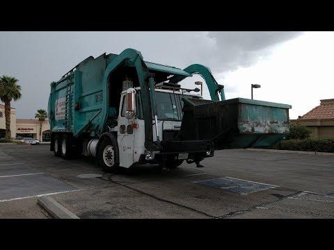 Republic Services Diesel Trucks in Vegas