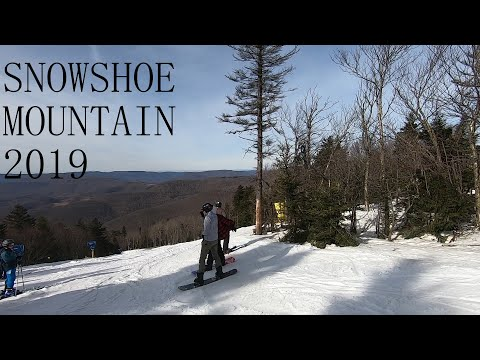Skiing And Snowboarding With The Boys In Snowshoe Mountain 2019