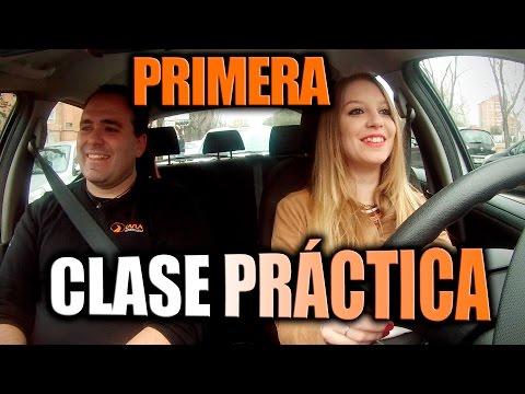 Autoescuela Lara: Primera Clase Práctica tiempo real - Primera clase manejo completa