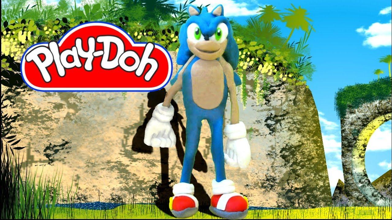 Play-Doh Sonic by alliechu on DeviantArt