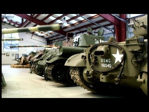 World's Largest Private Tank Fleet Up For Auction