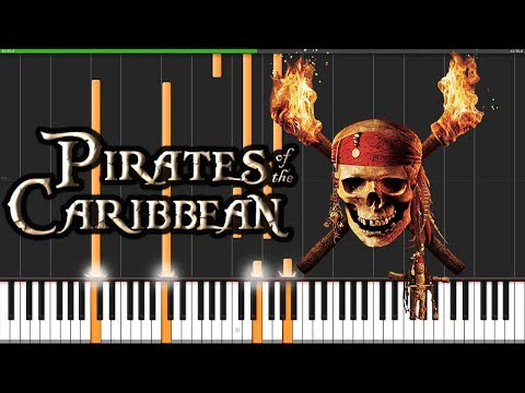 Pirates of the Caribbean Medley [Piano Tutorial] (Synthesia) // David Kaylor