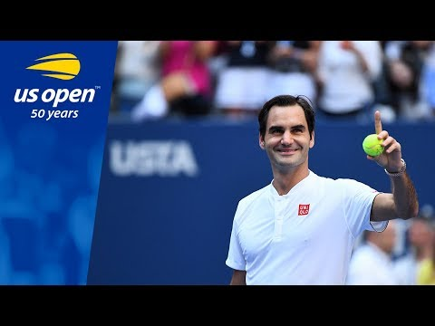 Roger Federer Continues His Top Form vs. Nick Kyrgios - US Open 2018
