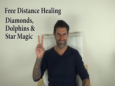FREE Distance Healing (Jerry Sargeant) Experience Dolphin, Diamond & Star Magic Energy Healing