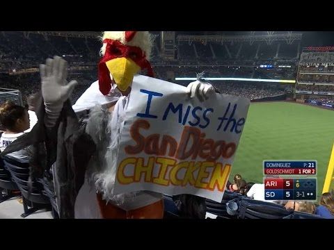 ARI@SD: Fans show their support in a bizarre way