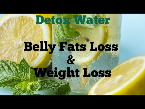 Flat Belly Diet - Weight Loss Detox Water - Lose Belly Fats - Detox Water For Weight Loss thumbnail
