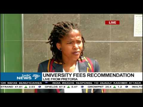 Students react to university fees recommendation