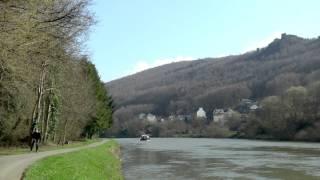 Bateau Le Roc à Monthermé - Ardennes - France