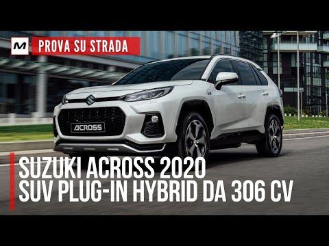 SUZUKI ACROSS 2020   PROVA SU STRADA della SUV plug-in hybrid con 75 km di autonomia in elettrico