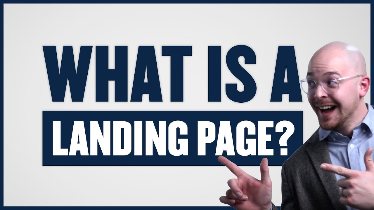 What is a Landing Page? On Website / Web Design?