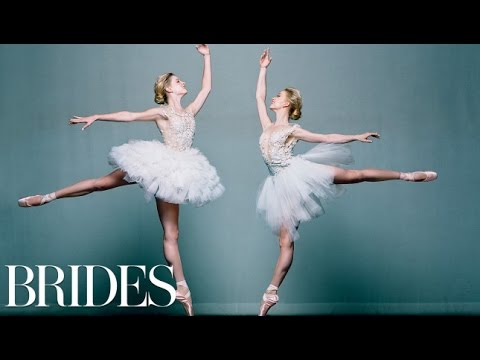 Ballerina Brides From the American Ballet Theatre Look En Pointe for Their BRIDES Photo Shoot