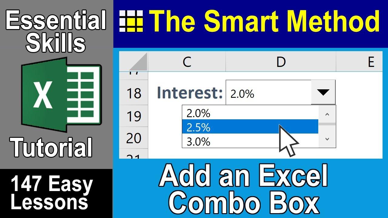Excel Tutorial: Combobox Excel form control | ExcelCentral com