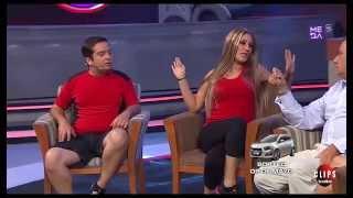 Nueva imitación de Oriana y Alex reality Amor A Prueba van a entrevista a MCC