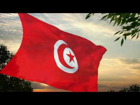 Flag and anthem of Tunisia
