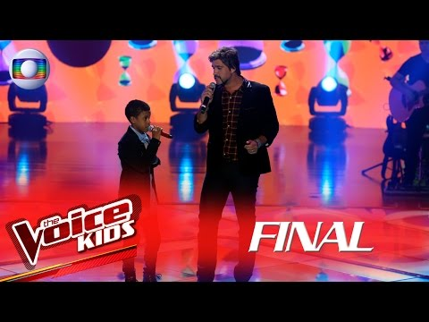 Leo Chaves canta 'Momentos' com Juan Carlos Poca no The Voice Kids Brasil - Final