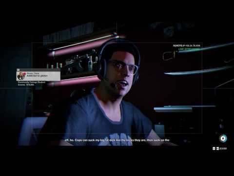 Watch Dogs 2 - Bad Publicity: Hack Into Pr0-Lapz's Apartment (Guy Swats Streamers) Sequence