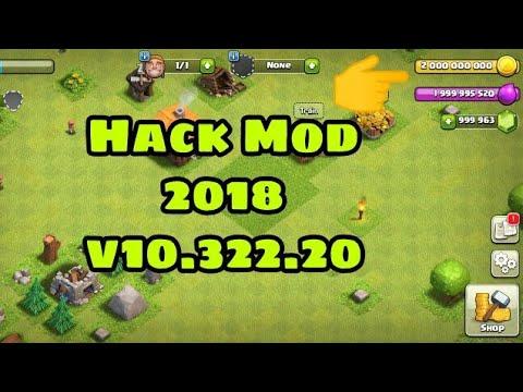 Clash Of Clans V10.322.20 Hack Mod 2018 👉 Link In Description