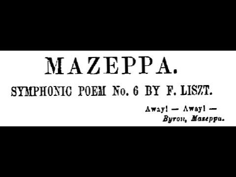 Liszt - Mazeppa, S. 100 (with score)