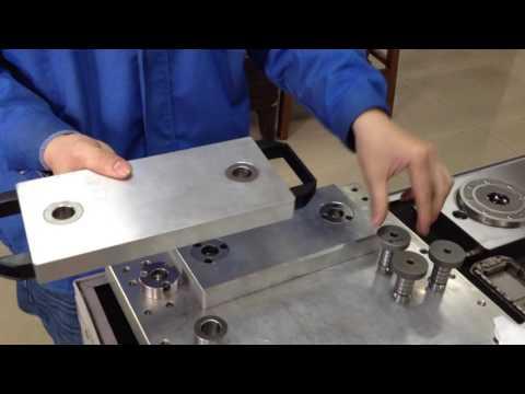 Jergens Ball Lock Shaft System for Upc Pallet