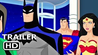 JUSTICE LEAGUE VS THE FATAL FIVE Official Trailer (2019) DC Animated Superhero Movie