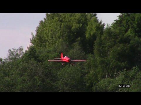 RC FLIGHT COSMIC WIND BALSA PLANE HARD LANDING