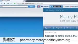 Mercy Pharmacy Express - Request Rx refills online 24/7