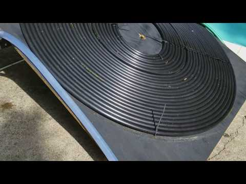 Prototype Onion Omega2+ powered Solar Pool Heater
