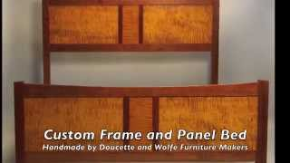 Frame And Panel Bed Building Process By Doucette And Wolfe Furniture Makers