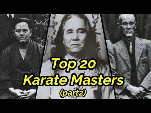 Top 20 Best Karate Masters In History (Part2)