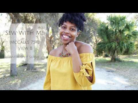 Sew With Me: McCalls 7543 View B