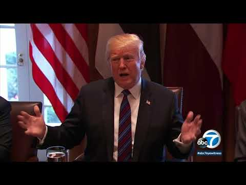 Trump wants to use military to secure US-Mexico border until wall is built I ABC7