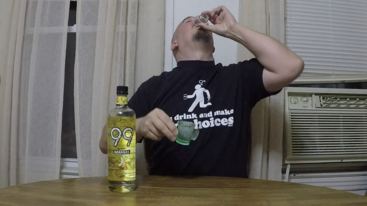 198 Subscribers Awesome Heres Something Special 99 Bananas Liquor Review