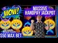 MASSIVE HANDPAY JACKPOT On Cash Burst Slot - $50 Mas Bet | Winning Big Money In Vegas | SE-4 | EP-20