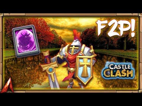 F2P EVENT LEGENDARY HERO CARD! 2 NEW HEROES!? Castle Clash