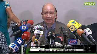 Venezuela - MUD ofrece detalles previos al proceso de diálogo- VPITV