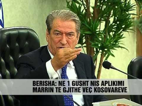 Berisha: Nga 1 gushti aplikime për shtetësinë shqiptare - Vizion Plus - News, Lajme