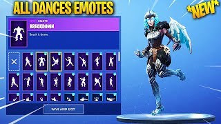 *NEW* VALKYRIE SKIN SHOWCASE WITH ALL DANCES/EMOTES! Fortnite Battle Royale