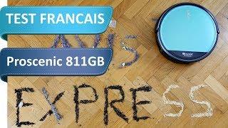 Proscenic 811GB - Un test de 55 Minutes en Français pour tout voir de cet aspirateur robot