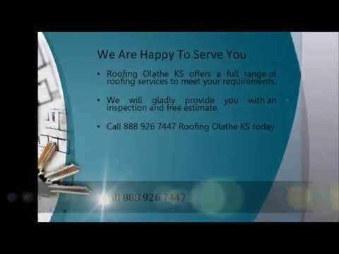 Roofing Olathe KS | Roof Repair Olathe KS | Roofers Olathe KS | Call 888 926 7447
