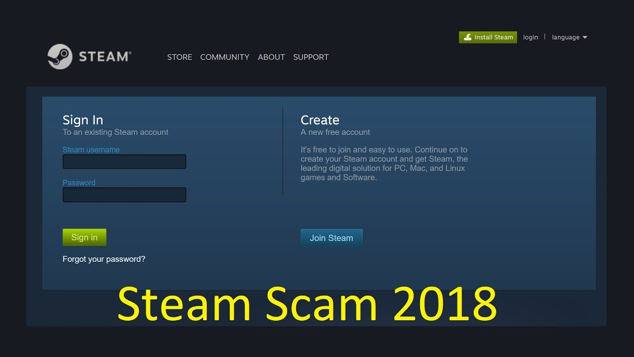 New Steam Scam 2018 Look Out!
