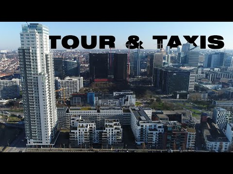 Brussels   Tour & Taxis   UP-site   Drone   4K