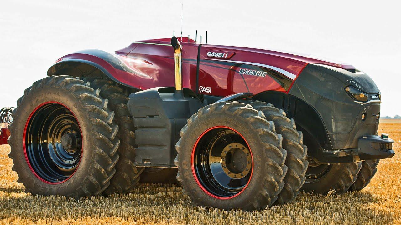 Case ih autonomous concept tractor youtube for Foto di case