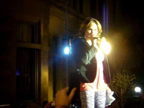 """Amber singing """"One More Night"""" @ Baltimore Pride"""